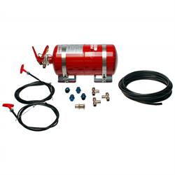 Lifeline Zero 2000 Fire Marshal 4.0 ltr Steel Fire Extinguisher System